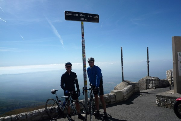 summit mont ventoux